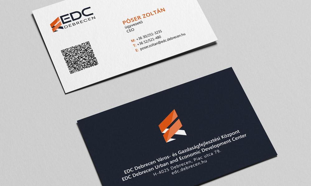 EDC Debrecen névjegykártya