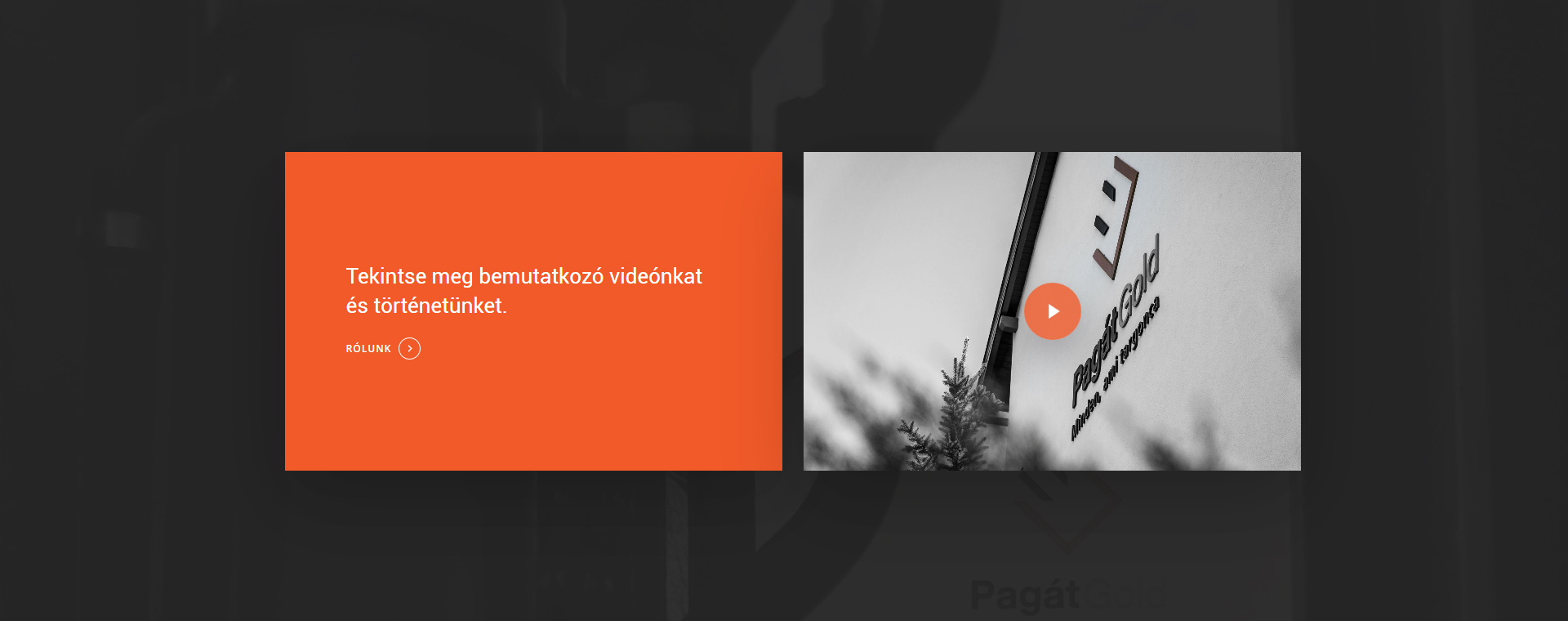 Ipari weboldal