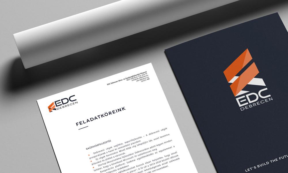 EDC Debrecen arculattervezés