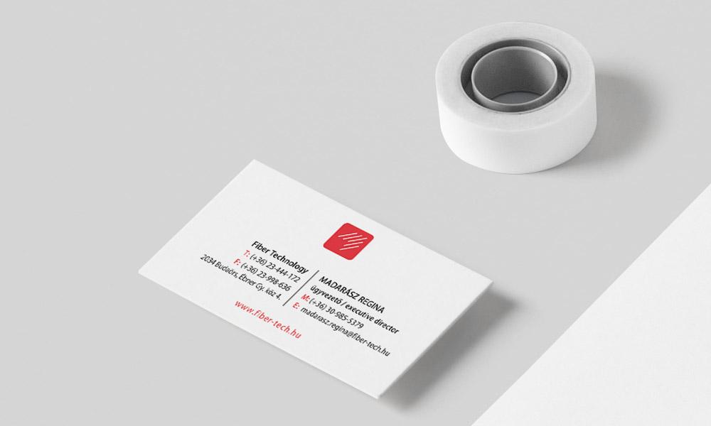 Fiber Technology névjegykártya 02
