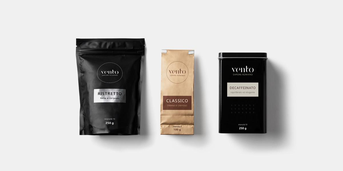 Kávé csomagolástervezés